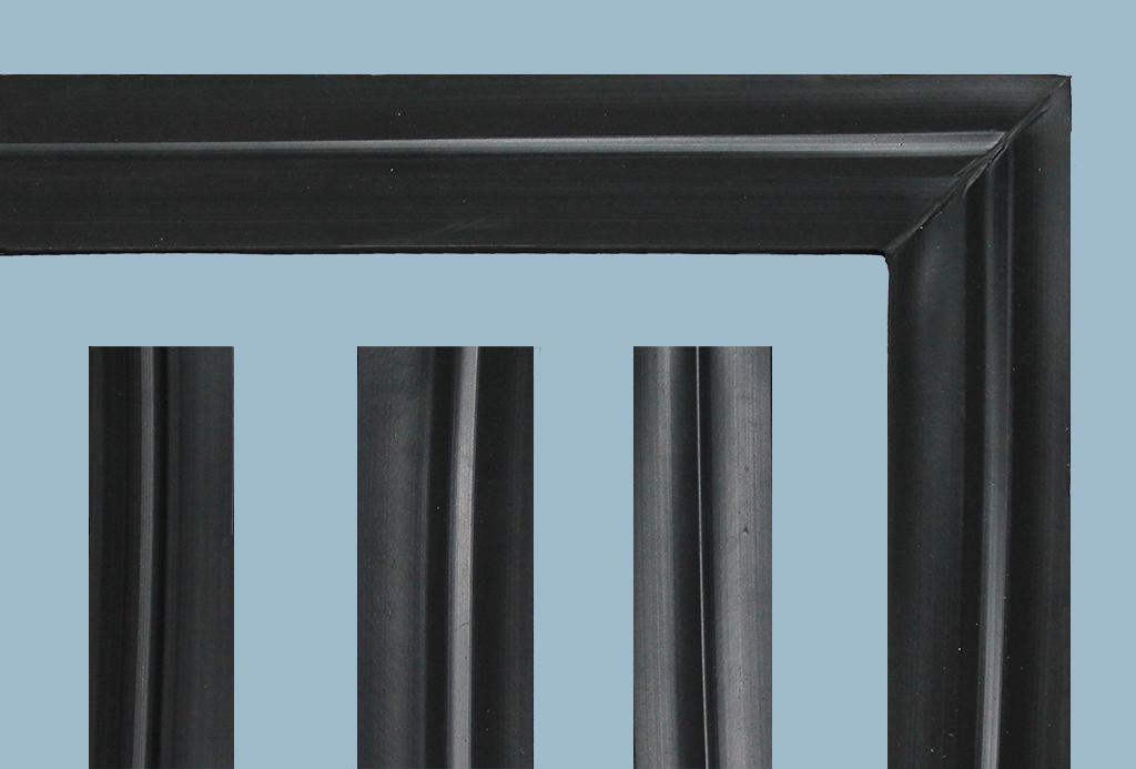 Diferentes bordes de tapete PVC